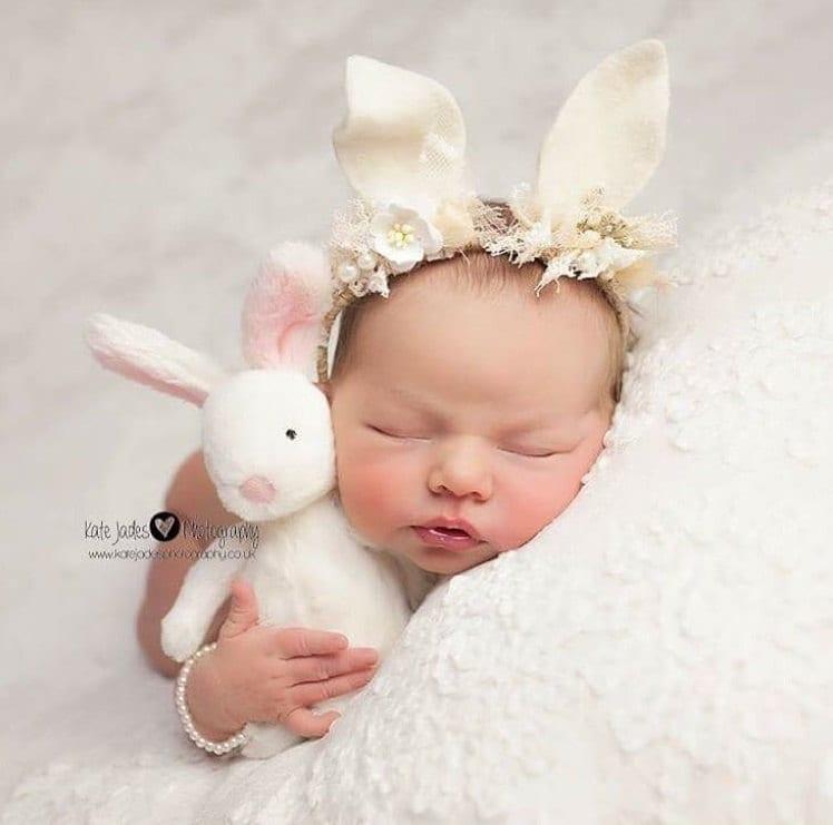 Newborn props - Newborn bracelet - Baby girl props - Baby Jewelry ...