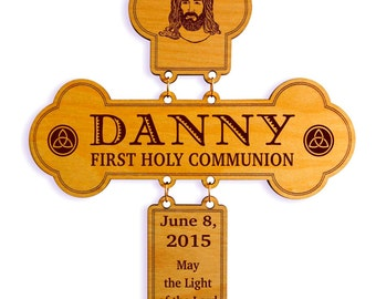 First Holy Communion Gifts - Confirmation Gift Personalized - 1st Holy Communion Gift from Godmother - Godparent - Godfather