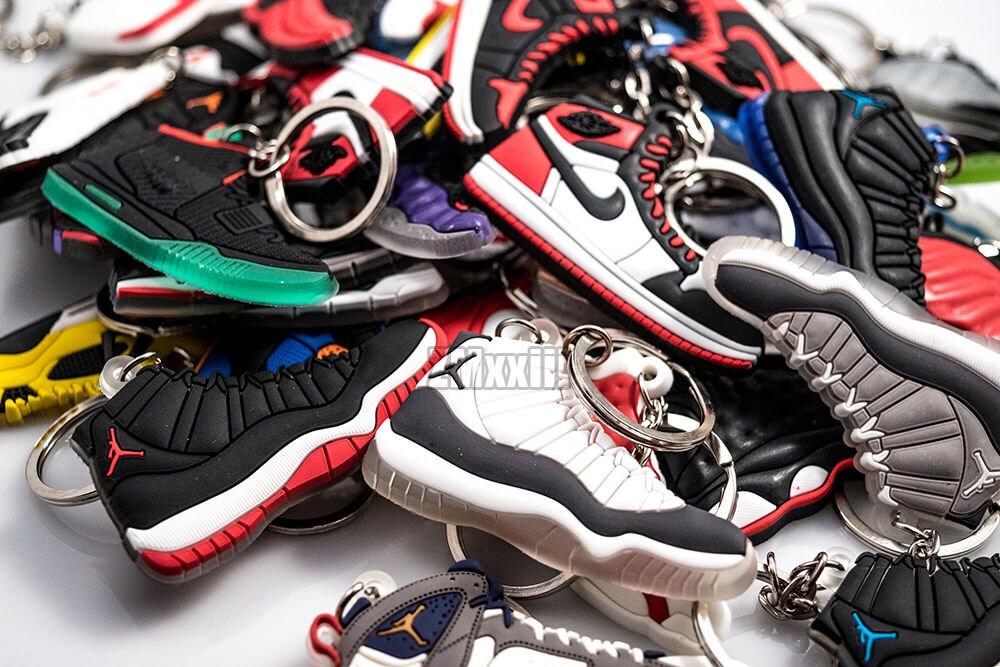 air jordan keychain shoe