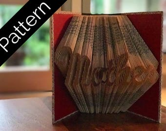 Mother - Folded Book Pattern - Instructions Included