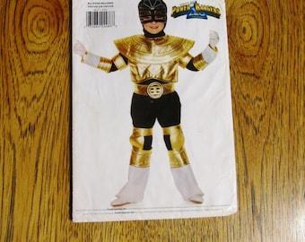 Mighty Morphin Power Ranger COSTUME - Zeo Ranger - Children's Sizes - UNCUT Sewing Pattern Butterick 4657