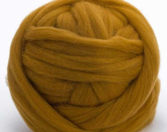 Merino Wool Top - 22.5 micron -Antique - 4 ounces