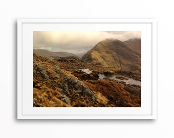 Mweelrea Mountain, Co. Mayo, Ireland - Original Photography, Wall Art Decor, Large Printable Digital Download