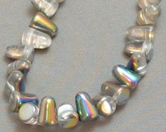Gumdrop Beads - Crystal Vitrail (10)