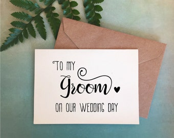 Bride to groom gift | Etsy