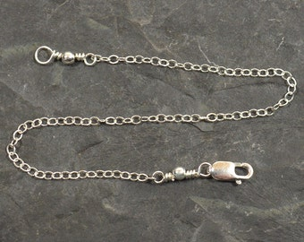 7 Inch Necklace Extender-Sterling Silver