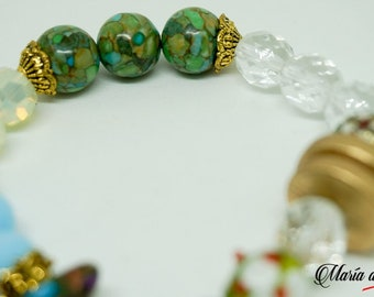 Beaded Bracelet - Earth colors