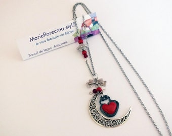 Necklace, Heart of the Moon,