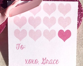 Sweet Hearts | Valentine Tags
