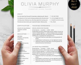 Teacher resume etsy teacher resume teacher resume template for word teacher resume format simple resume format altavistaventures Images
