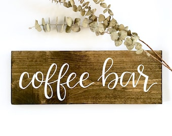 Coffee bar sign   wedding signs, coffee signs, wedding coffee bar, mugs sign, but first coffee, wood signs, rustic wood signs
