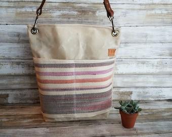 Wax Canvas Summer Hobo Bag