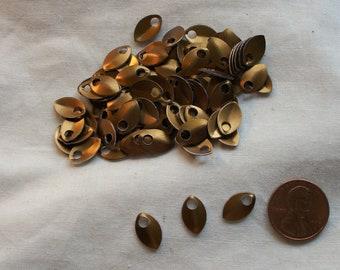 Dragon Scales - Aluminum - Tiny - Bronze - Sets of 100