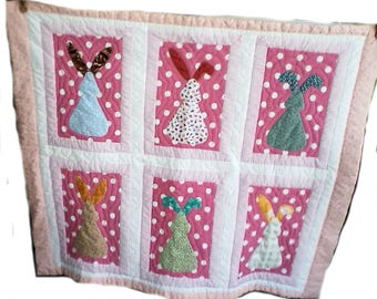 Bunny Rabbit Quilt for Baby