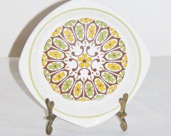 Royal Worcester Palissy pin dish retro colours 1960s