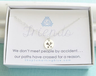Friendship Gift • Crossed Arrow Necklace • BFF Gift • Best Friend Jewelry • Arrow Necklace • Hand Stamped •  Best Friend Gift • Delicate