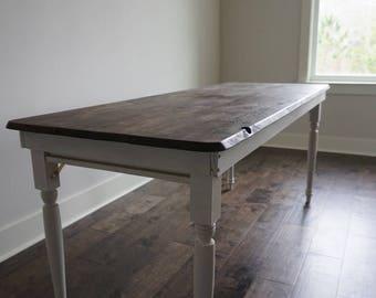 Wooden Folding Leg Table