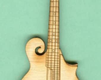 Mandolin (MU-022) - Laser Cut