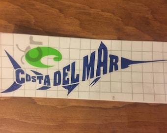 Costa Marlin Decal