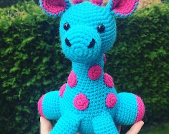 Crochet amigurumi Magdalena -the giraffe toy