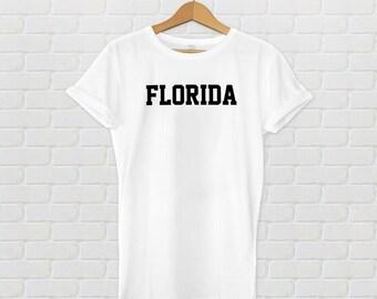 Florida Varsity Style T-Shirt - White