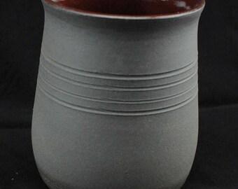 Black Stoneware Cup