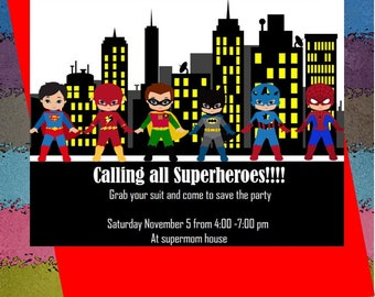 Let's super Heroes take city!!!