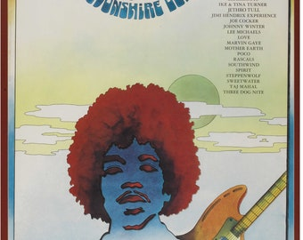 Newport Music Festival Featuring Jimi Hendrix (1969).