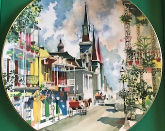 Royal Doulton New Orleans French Quarter Collector Plate