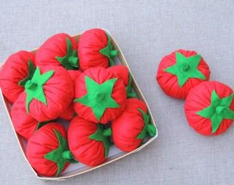FELT tomato - Dinette child - my little vegetable market