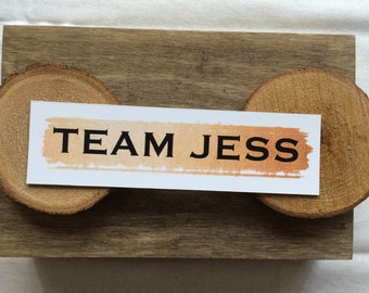 Team Jess Bookmark - Gilmore Girls
