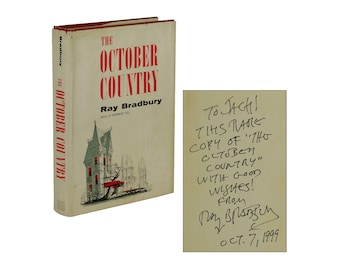 The October Country ~ SIGNED by RAY BRADBURY ~ First edition ~ 1st Printing 1955