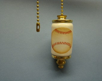 Baseball Fan & Light ceiling fan pull chain, light pull chain