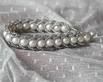 """""""Silver Viper"""" bracelet"""