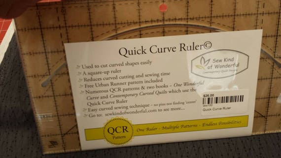 Quick Curve Ruler from Sew Kind of Wonderful Contemporary Quilt Designs
