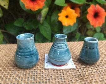 Miniature Pottery Urns/Vases