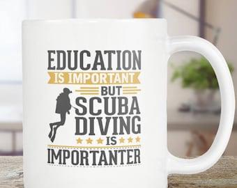 Scuba Diving Coffee Mug Funny Gift Idea