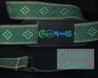 Green Chain 'Ukulele Strap