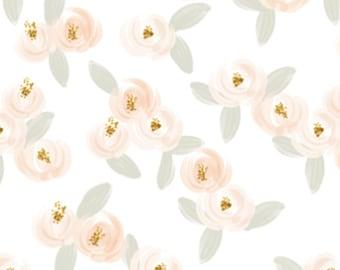 Baby Blanket Emma Rosette. The Cloud Blanket. Faux Fur Baby Blanket. Minky Baby Blanket. Pink Floral Baby Blanket.