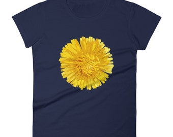 Women's Dandelion Art Print short sleeve t-shirt