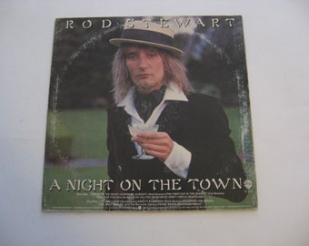 Rod Stewart - A Night On The Town - Circa 1976
