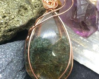 Lodolite/garden quartz