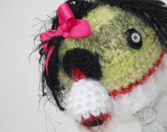 Zombie Hat for Baby Girl