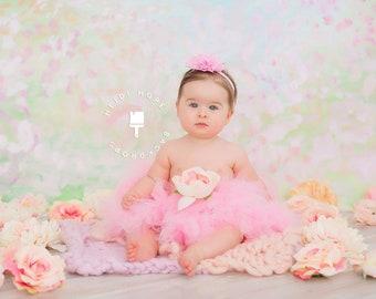 Pink Tutu | Baby Tutu Skirt | Strawberrie Rose Tutu