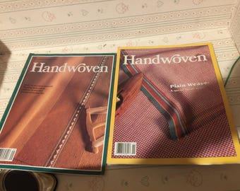 HANDWOVEN Magazines Sept/Oct Nov/Dec 1991