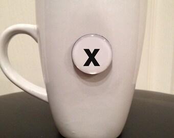 Quote | Mug | Magnet | Letter 'x'