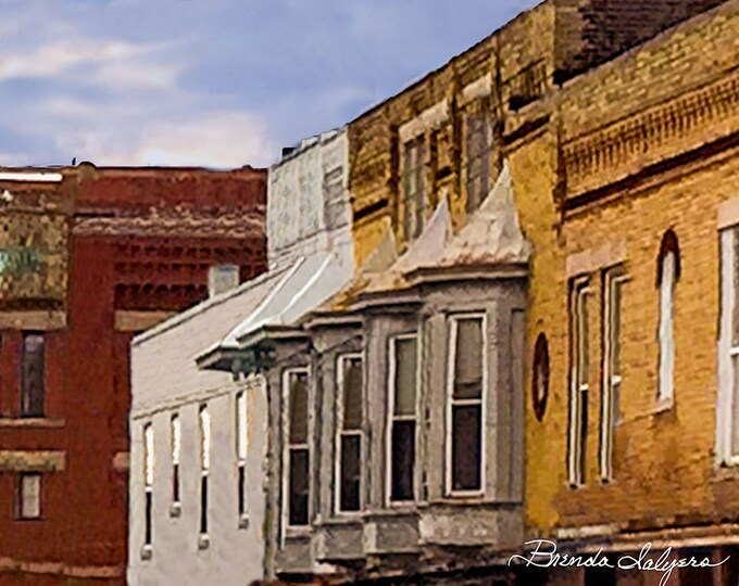 Kentucky, Window on Broadway, Winchester, Print on Fine Art Paper