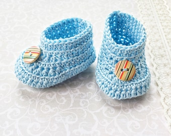 crochet baby shoes, new baby present, shoes, newborn slippers, boys baby booties, gender reveal, baby boy gift, baby shower present