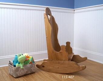 Rocking Chair for Kids, Rocker, Custom Kids Gift, Kids Rocking Chair, Farmhouse Kids Furniture, Birthday or Christmas for kids