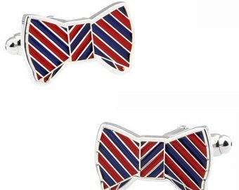 Bow Tie Cuff Links